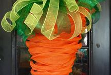 Carrot wreath/Easter