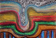 Mis pensamientos. / A través de la vida exprese mi sentir con palabras y colores. Michigel.