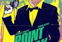 Retro Movie Plakate
