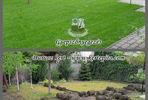Kertépítés előtte és utána / Kertek építését mutatjuk be a kezdetektől a munka befejézéséig