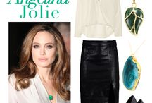 Get The Look / We feature beautiful celebrities donning Taula Look-Alike Jewellery.