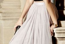 Gonne di tulle / Outfit e idee