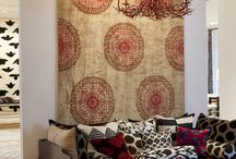 Eclectic interiors / We love eclectic, Bohemian interiors. It's a journey through your life.