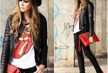 Estilo rock Star / Inspiración de outfit para un look rock Star ⭐️