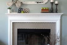 Fireplace Ideas / Ideas for our new fireplace mantel