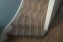 Stairs & Landings In West London / Client: Private Residence In West London. Brief: To supply & install carpet to stairs.