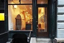 // Shop Interiors & Exteriors