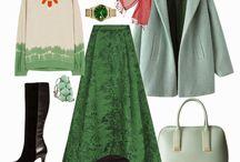 Fashion Hijab: Green
