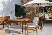 Drewniane meble ogrodowe / Wysokiej jakości drewniane meble do ogrodów, na tarasy lub balkony.