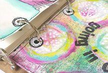 Art Planners and Agendas with StencilGirl Stencils