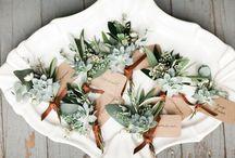 Subtle Greenery Wedding