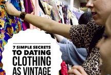 Vintage + Thrifting Tips