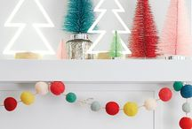 Modern Holiday Mantle