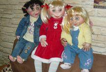 Panenky / ručně šité velké panenky, 80 až 100cm