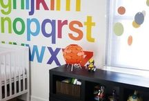 Playroom Decor / Decoration and Fun for new playroom!