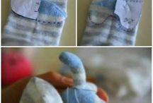 Animaux en chaussettes
