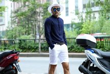 ByTheR- Classic Cool Bluish Style / http://en.byther.kr/ Makes your eyes wet with this bluish gentlemen's fashion style.