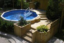 pallet pool decking