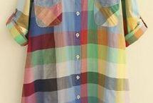 ekose gömlek  elbiseler