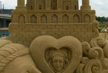 Awesome Sand Castle Art