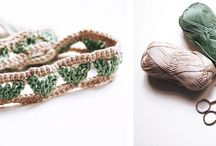 Crochet - hair accessories