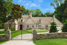 108 Westover Road, Stamford CT / Exquisite materials and master craftsmanship seen from the moment you drive into the private gated entry. This light filled home is in move in condition. In the coveted Westover section of town, true perfection in this fully renovated and reimagined home for today's buyer.