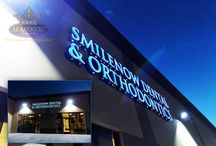 Business Signs / Exterior building signs for all businesses.