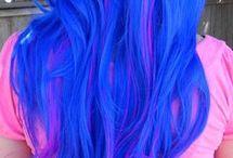 Εντυπωσιακά Βαμμένα Μαλλιά