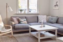 Salon / Ideas para el salon-cuarto de estar