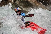 Kayak y aguas bravas