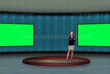 Business Virtual Set