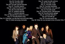 Doctor Who 30 Day Challenge