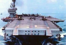 USS Forrestal / Ship I was stationed on March 1987-1990. V-1. / by Charles Hohman