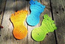 Crochet: rug, mat, coaster, quilt