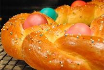 Breaded Easter eggs