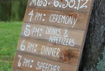 JT Wedding - Outside Decor ideas