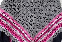 Gehaakte stola's en shawls