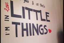 Little things. / One Direction