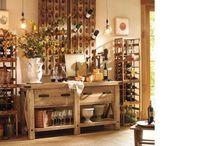 Wine cellar and storage