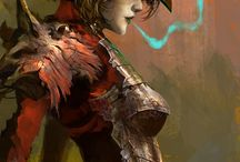 fantasy & cyborgs