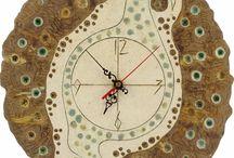 Ceramic Clocks - Handmade / There you find unique 100% handmade clocks.