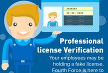 Professional License Verification Services in India / Fourth Force performs Professional License Verification Services in India