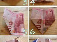 Geldgeschenkdeko