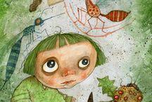 Alice in W:Stefano Bessoni / Alice in wonderland (illustrator)