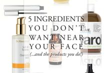 Natural Beauty Wish List / All free of harsh and toxic chemicals... these product are on my list to test and try.