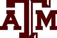 A & M - Proud Parent / 2 sons and a d.i.l., classes '07 & '08 / by Allison Mayes
