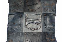 Jeans kussens / Kussen