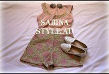 Sabinastyle.au YOUTUBE / Style/Fashion/Lookbooks