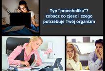 Typ Pracoholik - wskazówki do diety
