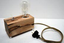 Lampa/trä